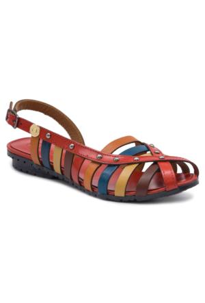 Mammamia D17Ys1240 Kırmızı Terlik - Sandalet