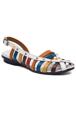 Mammamia D17Ys1240 Beyaz Terlik - Sandalet
