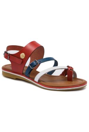 Mammamia D17Ys1280 Kırmızı Terlik - Sandalet