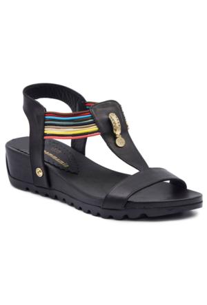 Mammamia D17Ys1335 Siyah Terlik - Sandalet