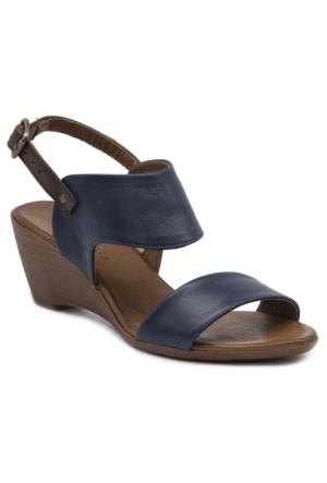 Mammamia D17Ys1360 Lacivert Terlik - Sandalet