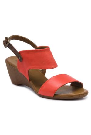 Mammamia D17Ys1360 Kırmızı Terlik - Sandalet