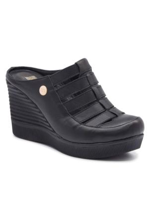 Mammamia D17Ys2040 Siyah Terlik - Sandalet
