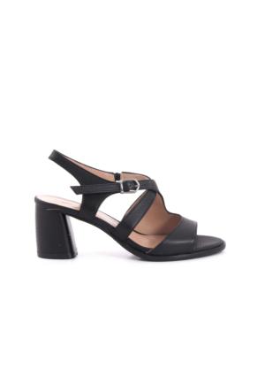 Kemal Tanca Kadın Sandalet Siyah