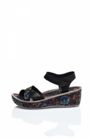 Bueno Black 019 Sandalet