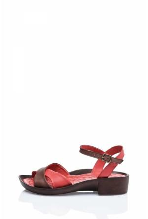 Bueno Red Emo Sandalet