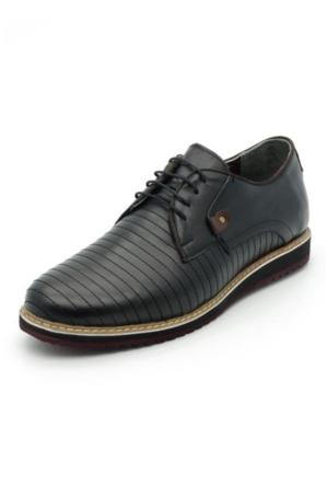 İriadam İ4296-2 Siyah Eva Taban Ayakkabı