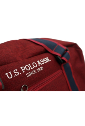U.S. Polo Assn. Plduf6984-Br Bordo Seyahat Çantası
