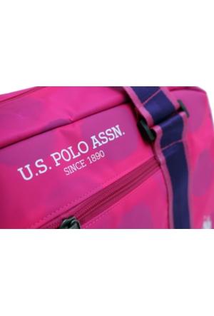 U.S. Polo Assn. Plduf6988-P Pembe Bayan Seyahat Çantası