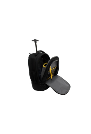 Cat 80018-01-S Erpıllar Siyah Çek Çekli Tekerlekli Sırt Çantası