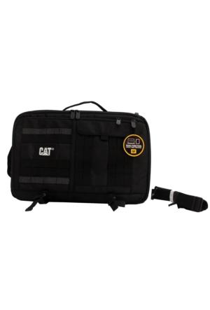 Cat 83394-01-S Erpıllar Siyah Sırt Çantası