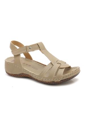 Fantasy Krem Günlük Kadın Sandalet