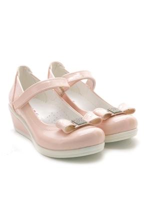 Lady Dolgu Topuk Pudra Pembe Kız Çocuk Ayakkabı