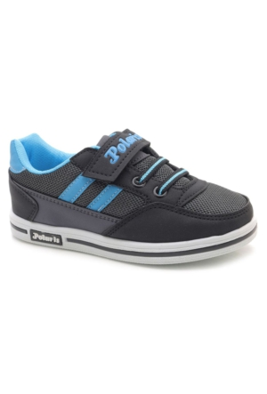 Polaris Mavi Spor Ayakkabı