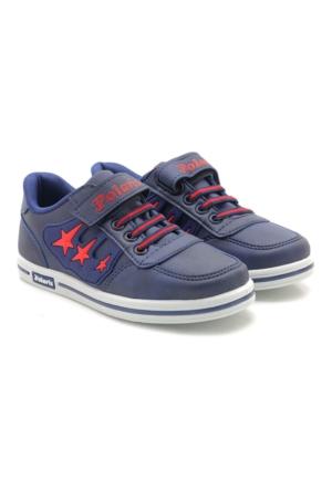 Polaris Siyah Çocuk Spor Ayakkabı