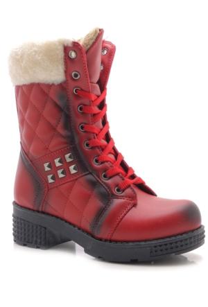 Roomstar Kırmızı Kız Çocuk Çizme
