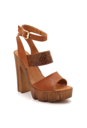 Modalisa Soul Taba Platform Sandalet