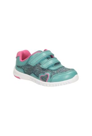 Clarks Azon Maze Fst Kız Çocuk Spor Ayakkabı Turkuaz
