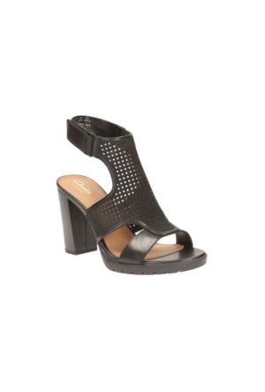 Clarks Pastina Lima Kadın Sandalet Siyah