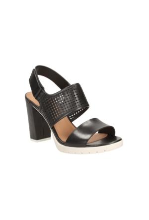 Clarks Pastina Malory Kadın Sandalet Siyah