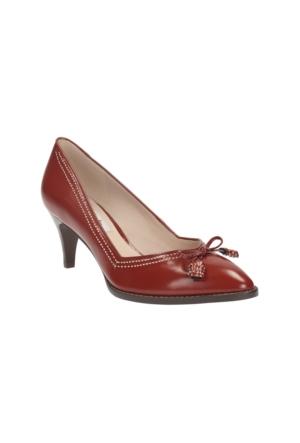 Clarks Ancient Bombay Kadın Ayakkabı Kırmızı