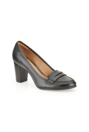 Clarks Basil Crimson Kadın Ayakkabı Siyah