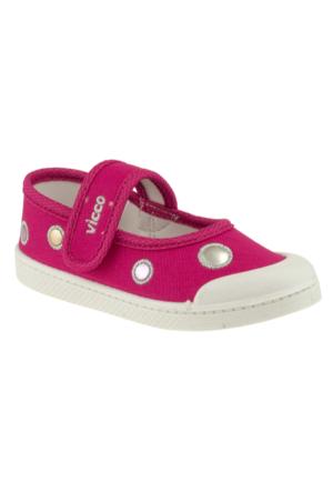 Vicco 209.U.204 Keten Çocuk Fuşya Çocuk Ayakkabı