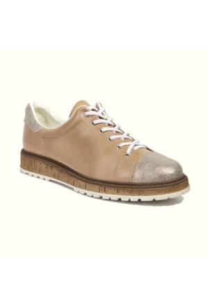 Desa Collection Kadın Deri Günlük Ayakkabı Bej