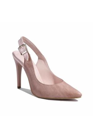 Desa Kadın Klasik Ayakkabı Pudra