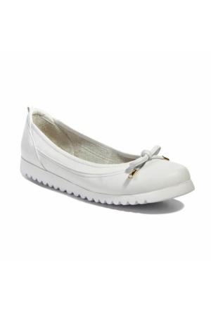 Desa Collection Deri Kadın Günlük Ayakkabı Beyaz