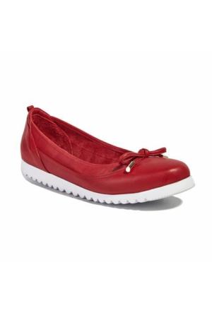 Desa Collection Deri Kadın Günlük Ayakkabı Mercan
