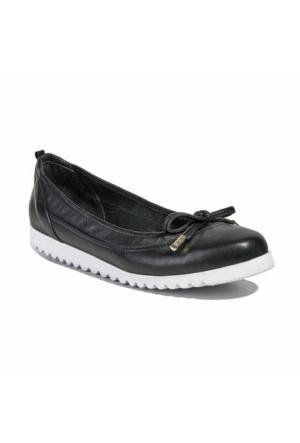 Desa Collection Deri Kadın Günlük Ayakkabı Siyah