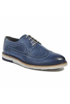Desa Deri Erkek Günlük Ayakkabı Mavi