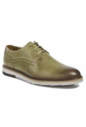 Desa Deri Erkek Günlük Ayakkabı Fıstık Yeşili
