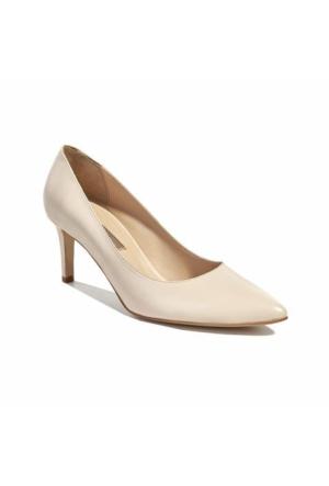 Desa Deri Kadın Klasik Ayakkabı Bej