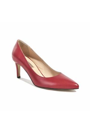 Desa Deri Kadın Klasik Ayakkabı Kırmızı