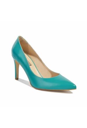Desa Deri Kadın Klasik Ayakkabı Yeşil