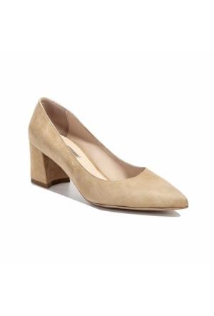 Desa Süet Kadın Klasik Ayakkabı Açık Taba