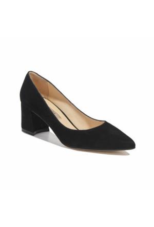 Desa Collection Süet Kadın Klasik Ayakkabı Siyah