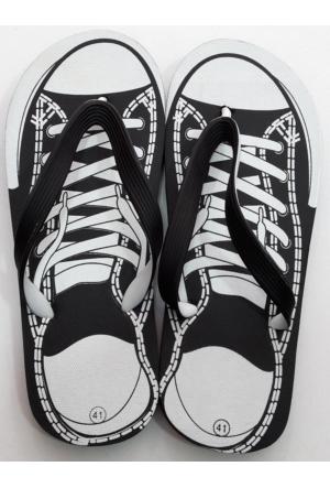 Hobi Store Converse Model Siyah Parmak Arası Terlik