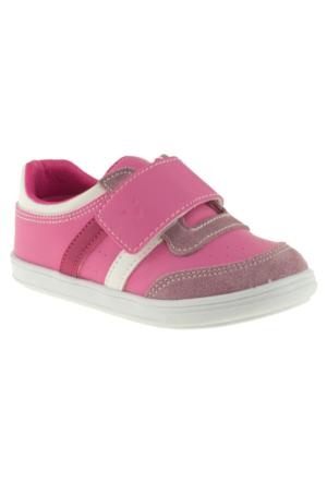 Vicco 906.Z.075 Deri Çocuk Patik Pembe Çocuk Ayakkabı
