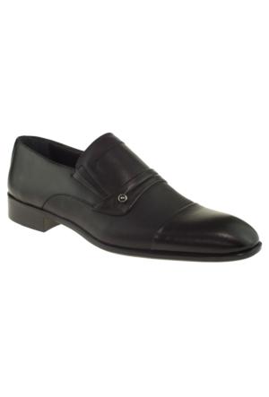 Banner 7279 Bağlı Klasik Siyah Erkek Ayakkabı