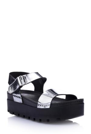 DeFacto Kadın Trend Sandalet Gümüş