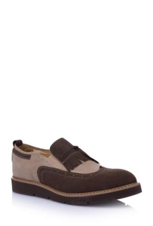 DeFacto Erkek Oxford Ayakkabı Kahverengi