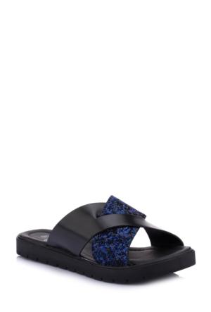 DeFacto Kadın Taş Detaylı Sandalet Saks