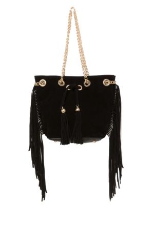 DeFacto Kadın Püskül Detaylı Çanta Siyah