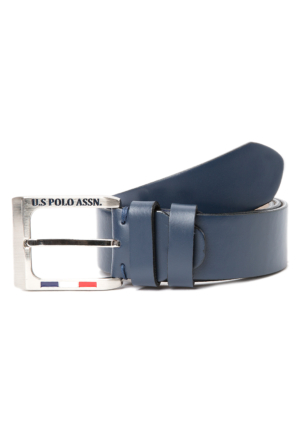 U.S. Polo Assn. Erkek K6Ad057 Kemer Lacivert