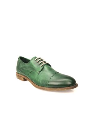 Uniquer Erkek Hakiki Deri Ayakkabı 71129U 14102 Yeşil