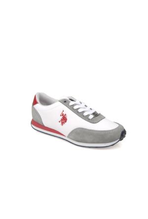 U.S. Polo Assn. Kadın Ayakkabı 7122P Paci Z Beyaz