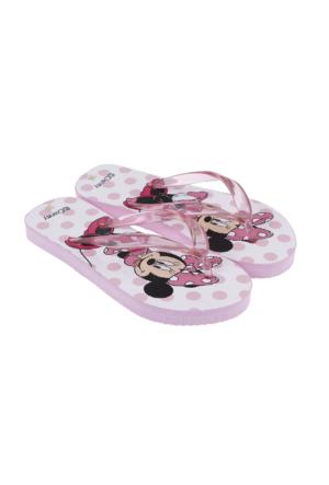 Soo Be Disney Minnie Mouse Kız Çocuk Parmak Arası Terlik Pembe